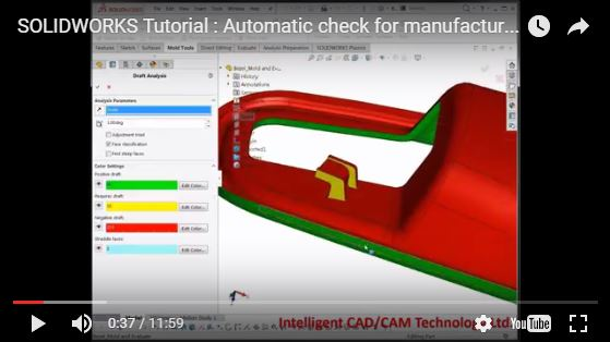 SOLIDWORKS Tutorial : Automatic check for